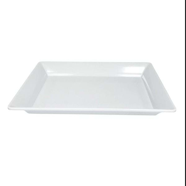 "Picture of 20"" x 13"" Rectangular Melamine Platter"