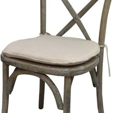 Natural Crossback Chair Cushion