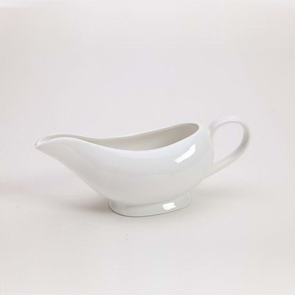 Pearl White Gravy Bowl