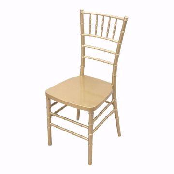 Gold Resin Chiavari Chair