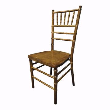 NES Dark Fruitwood Chiavari Chair