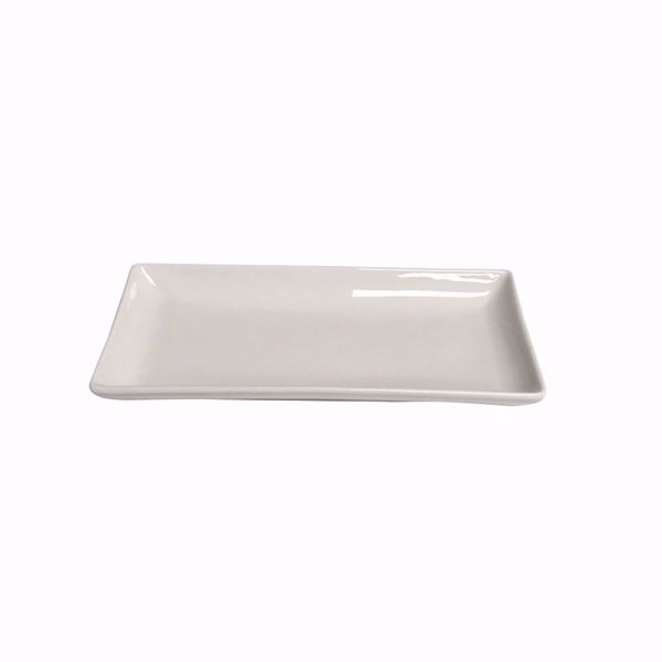 "10.5"" x 5"" Rectangular Platter - side top"