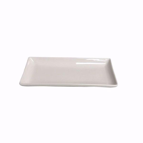 """10.5"""" x 5"""" Rectangular Platter - side top"""