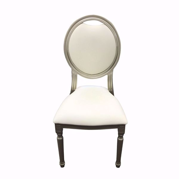Champagne King Louis Chair - Front