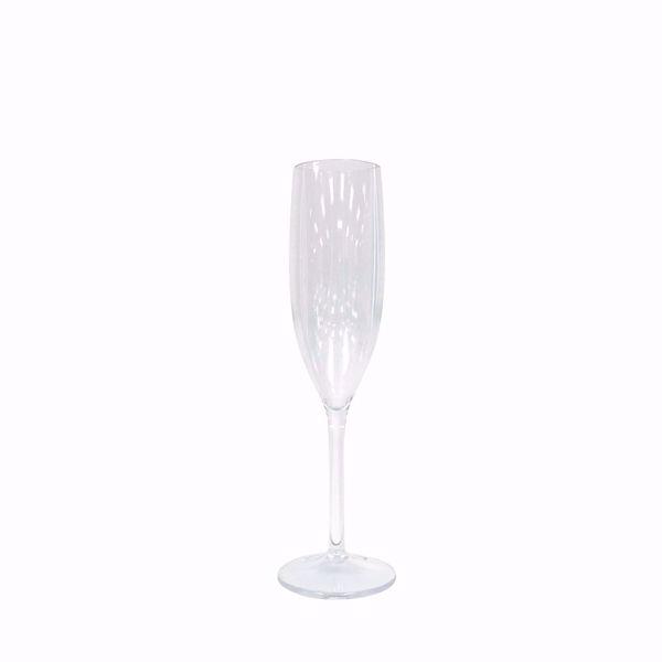 Polycarbonate 7oz Plastic Champagne Flute
