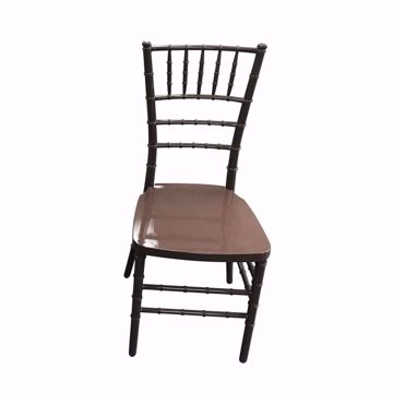 NES Reliable Brown Resin Chiavari Chair