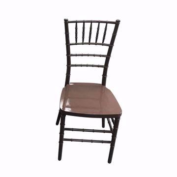 NES Reliable Brown Resin Chiavari Chair