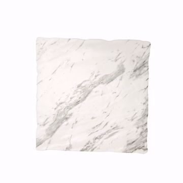 "14"" Square Faux Marble Melamine Platter"