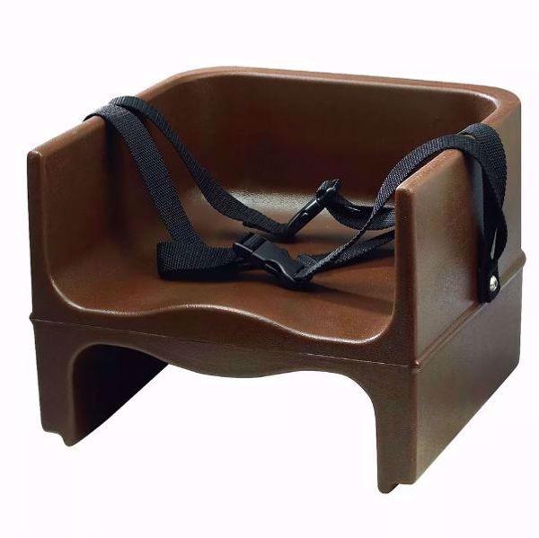 Restaurant Booster Seat - Brown