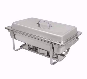 Value 8qt Stackable Full-Size Chafer with Lift-off Lid