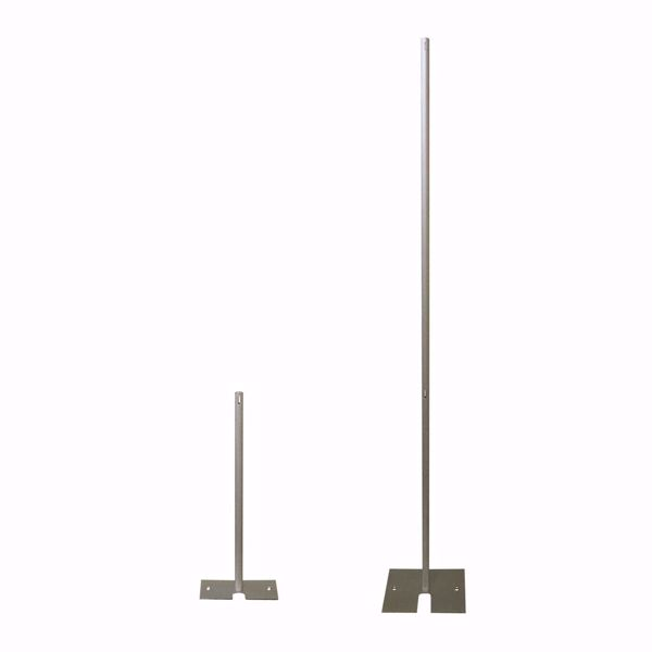 1.5in diameter fixed height uprights