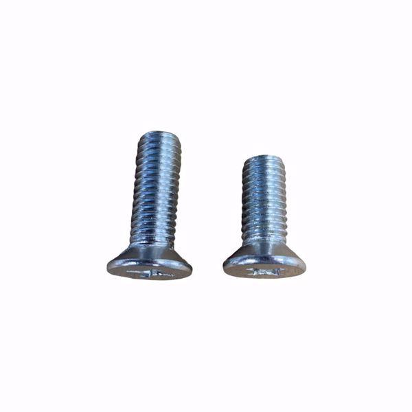 Both replacement screws
